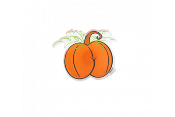Pumpkin Spicy Booty Pin